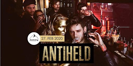Antiheld | Rock / Pop aus Stuttgard - Goldener Schuss Tour