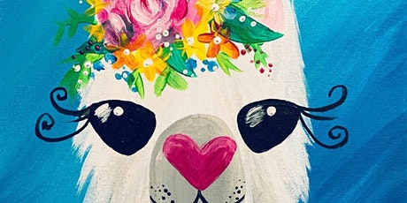 A Whole Llama Love Family Brush Party - Farnham tickets