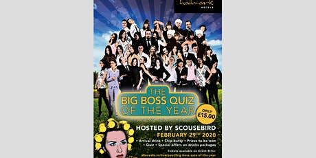 Big Boss Quiz of the year tickets