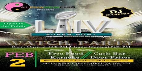 AlphaMemphis Super Bowl Party tickets