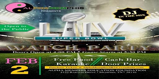 AlphaMemphis Super Bowl Party