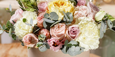 Mum and Me. Mother's Day Flower Hat Box  Workshop tickets