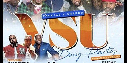 "10th Annual VSU DAY PARTY ""HBCU TAkEover Edition"""