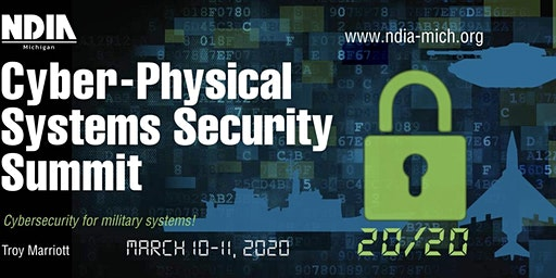 NDIA Cyber-Physical Systems Security Summit