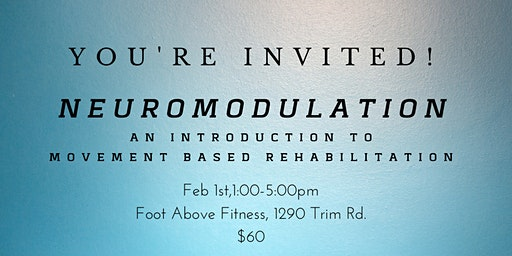 Neuromodulation - An introduction to movement based rehab