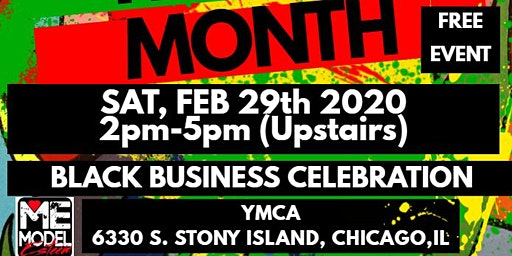 Black History Fashion Meets Poetry /Music &  Shop Black Business Showcase