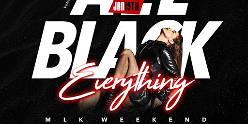 BLACK PARTY MLK WKND @ VENU