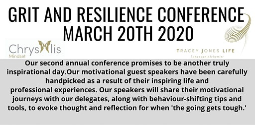 Grit & Resilience within the Workplace Conference 2020
