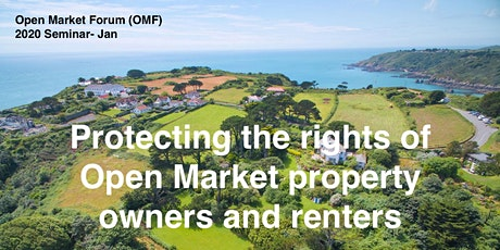 Open Market - Jan 2020 Seminar - Protecting your rights! tickets