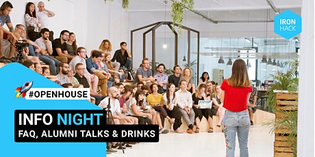 IRONNIGHT: Ironhack Amsterdam Info Night tickets