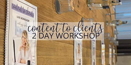 Content 2 Clients 2 Day Workshop tickets