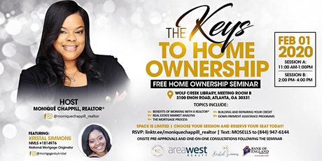 The Keys to Home Ownership| Free Home Buyers Seminar tickets