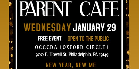 Parent Cafe: New Year, New Me tickets