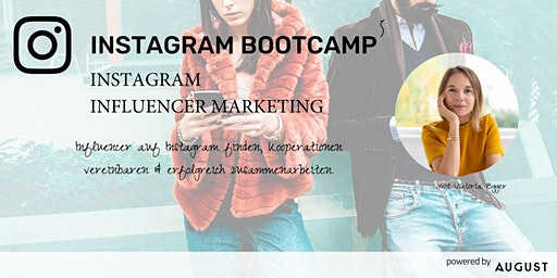 Instagram Bootcamp 5 - Instagram Influencer Marketing