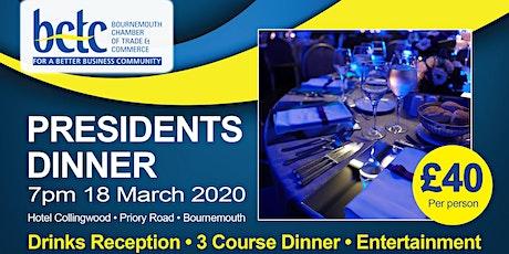 Presidents Dinner tickets