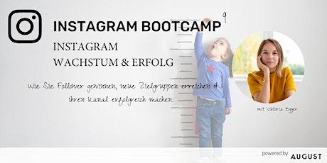 Instagram Bootcamp 4 - Instagram Wachstum & Erfolg Tickets