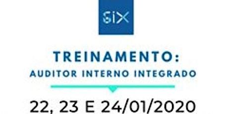 Treinamento - Formação de Auditor Interno em Sistema de Gestão Integrado ingressos