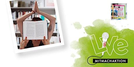 MITMACHAKTION: Pop Up Yoga München meets Hugendubel Tickets