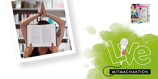 MITMACHAKTION: Pop Up Yoga München meets Hugendubel