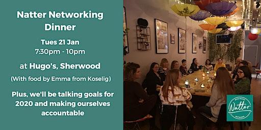 Natter Networking Dinner - January