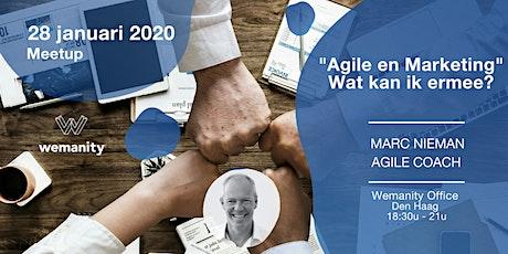 Meetup: Agile en Marketing, wat kan ik ermee? tickets