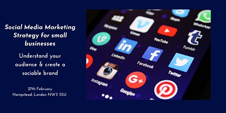 Social Media Marketing Strategy for Business tickets