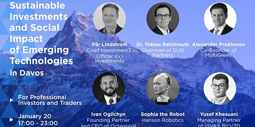 EmTech Investment Meeting 2020 at DAVOS