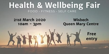 Health & Wellbeing Fair tickets