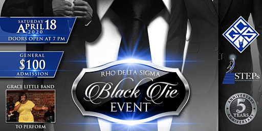 Rho Delta Sigma Chapter of Phi Beta Sigma- 5th Anniversary Gala
