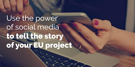 Use the power of social media to tell the story of your EU project tickets