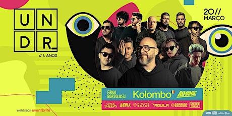 UNDR_ c/ Kolombo ingressos