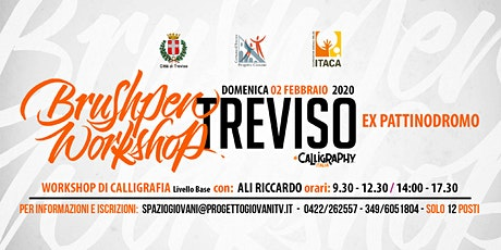 Brushpen Workshop-workshop di calligrafia biglietti