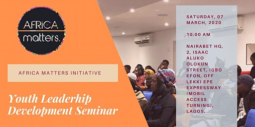 AMI YOUTH LEADERSHIP DEVELOPMENT SEMINAR II