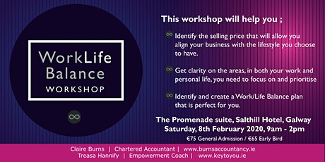 Work Life Balance Workshop tickets