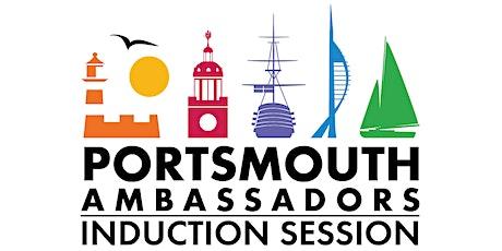 Portsmouth Ambassador Induction Session tickets