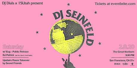 DJ Seinfeld tickets