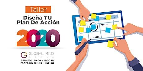 Taller: Diseña tu plan de acción 2020 entradas