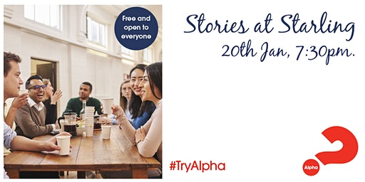 Alpha Launch Night - Stories at Starling