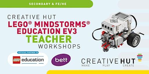 BETT 2020 Workshop: LEGO® MINDSTORMS® Education  EV3 MicroPython