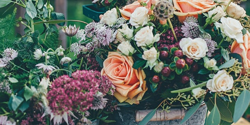 LEARN TO MAKE A POSY ARRANGEMENT WITH JO HICKS  — 21 FEB
