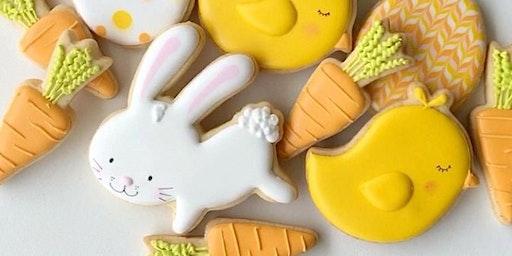The Cookie Shop - TURMA EXTRA Biscoitos Decorados - Módulo 1 Páscoa