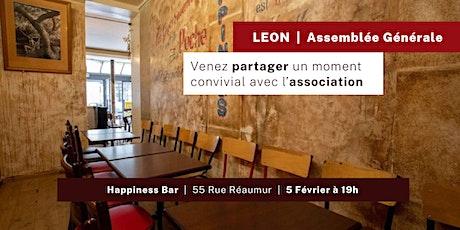 Assemblée Générale - Association LEON billets