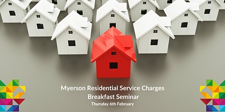 Myerson Residential Service Charges Breakfast Seminar tickets