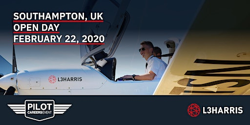 Airline Pilot Careers Event: Southampton – February 22, 2020