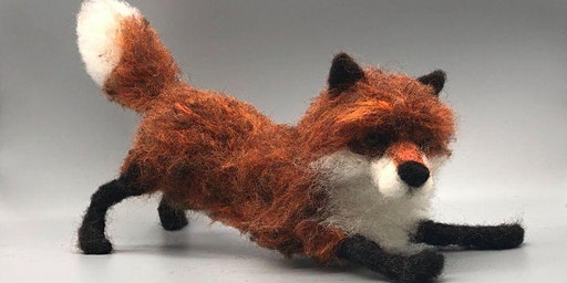 NEEDLE FELTED FULL FOX