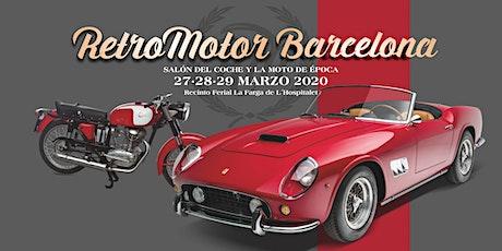 Retromotor Barcelona 2020, salón del coche y la moto de época entradas