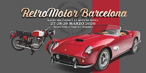 Retromotor Barcelona 2020, salón del coche y la moto de época