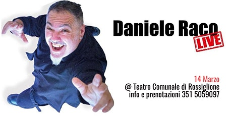 Daniele Raco LIVE! biglietti