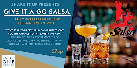 Shake It Up Salsa Session tickets