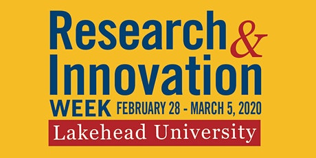 R&I Week 2020 - Lakehead University - Northern IGNITE tickets
